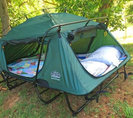 Kamp Rite Double Tent Cot Elevate Your Camping Experience