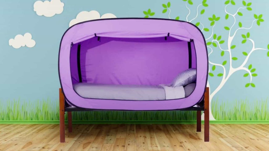 Privacy Pop Transform Your Bed Into A Comfy Fort