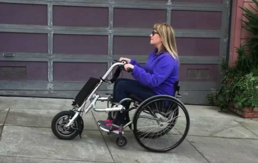 Firefly Electric Handcycle Turn Your Wheelchair Into An