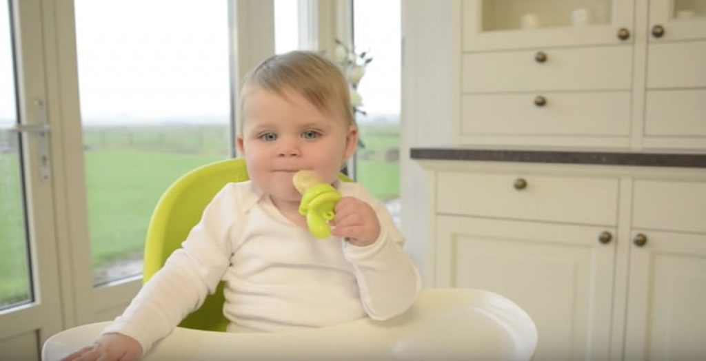 This Feeder Lets Baby Safely Explore New Foods