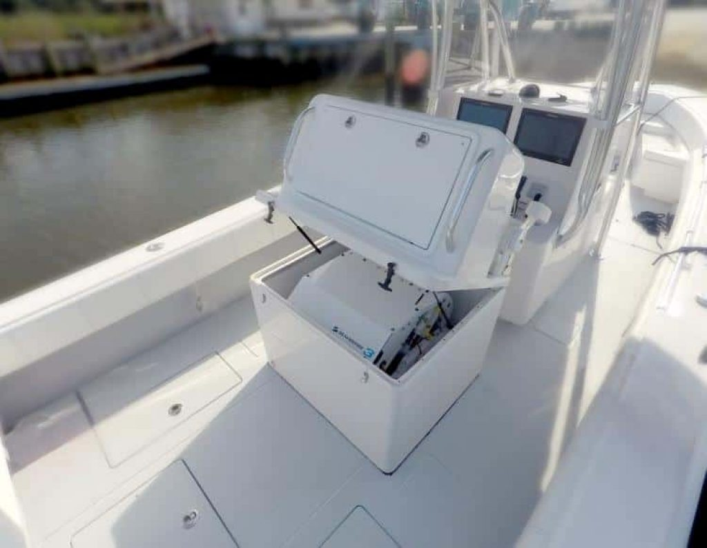 This thing stabilizes your boat