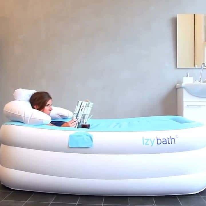 Tubble Is an Inflatable Bathtub That Fits into Almost any Home