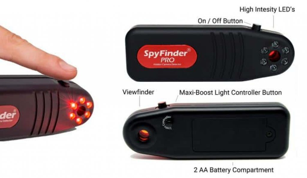 SpyFinder Pro Detects Hidden Cameras