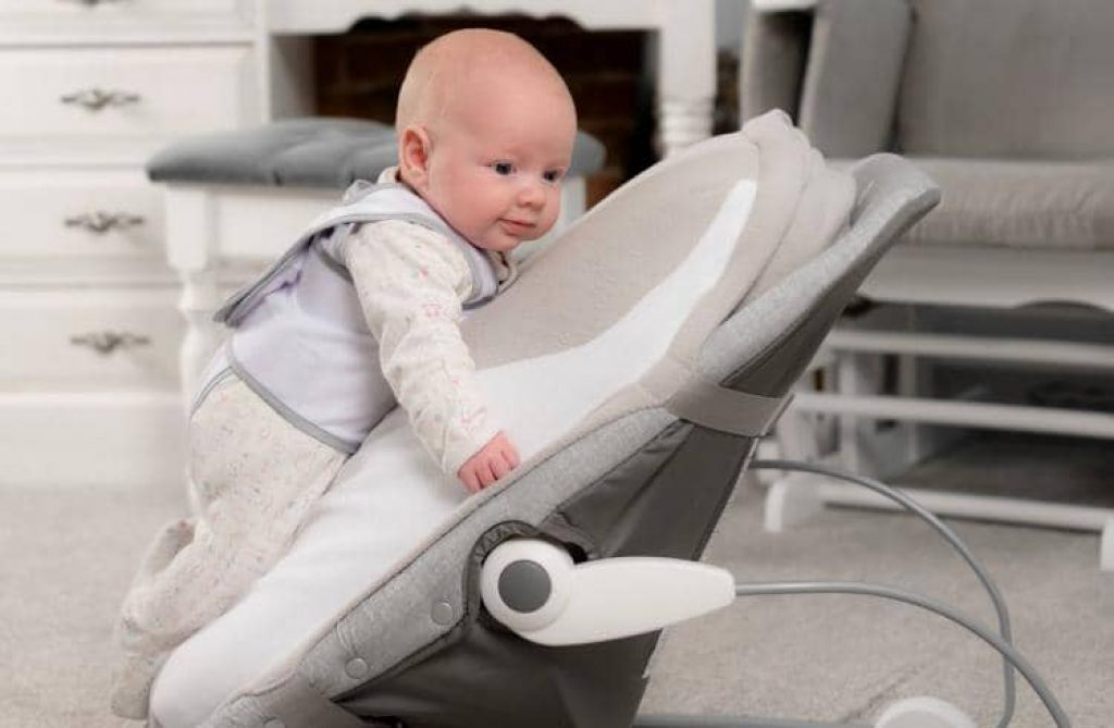 Babocush Vibrating Bed Soothes Babies From Crying