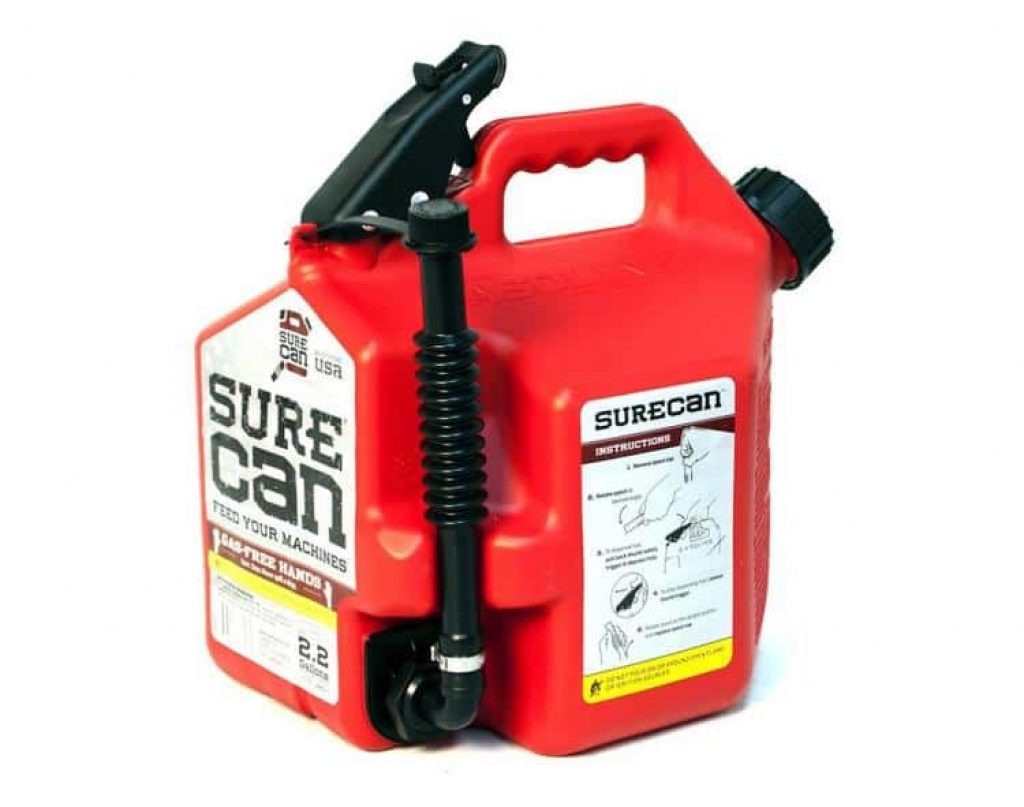 SureCan makes refueling easy and mess free