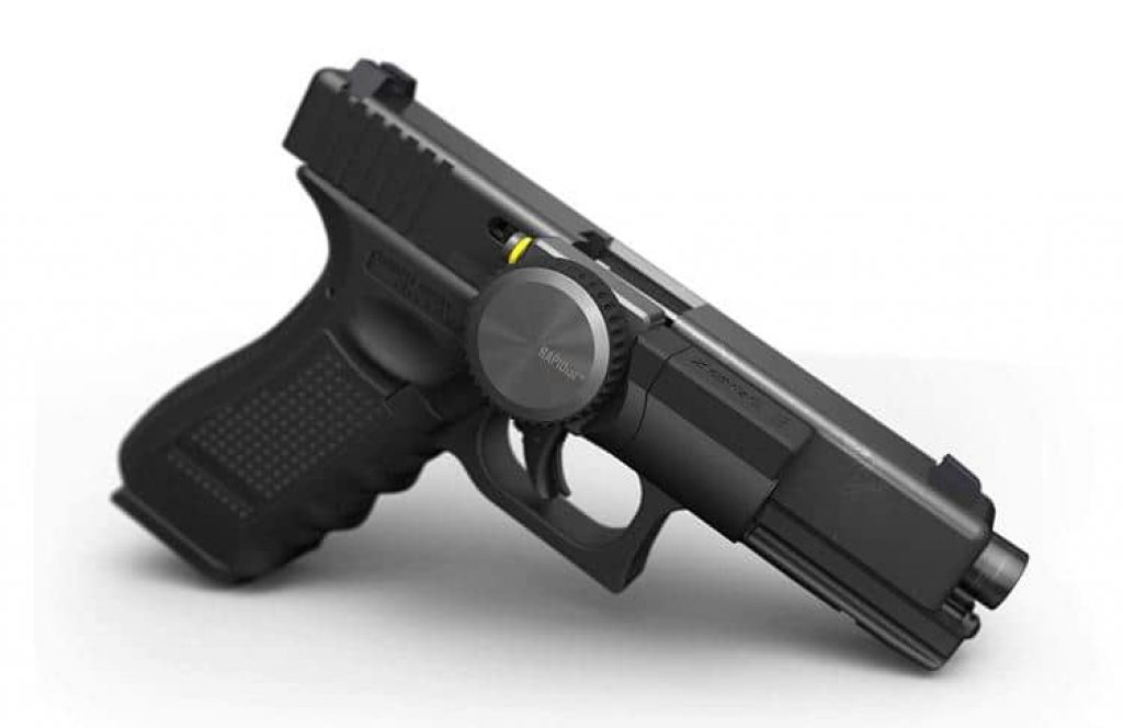 This smart gun lock will ensure only you fire your weapon - and no one else.