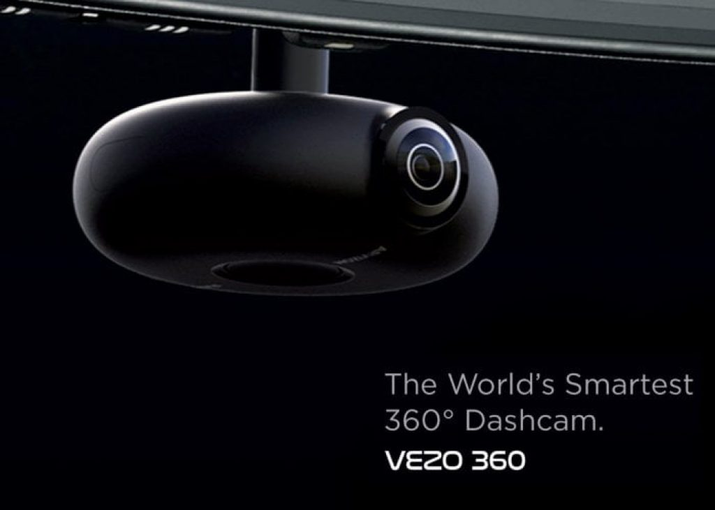 Vezo 360 is the world's smartest Dash-cam